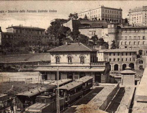 Primo viaggio per il treno della Centrale Umbra