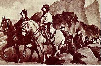 1849, ad Orvieto rum e ciambelle per Garibaldi in fuga da Roma