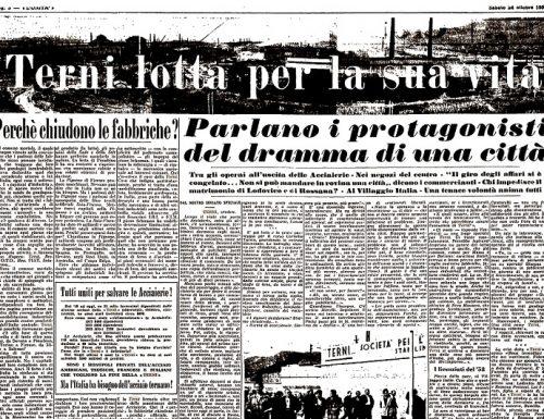 1953, ottobre nero per gli operai delle acciaierie