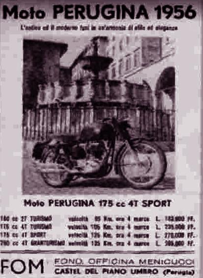 Perugina moto Castel del Piano