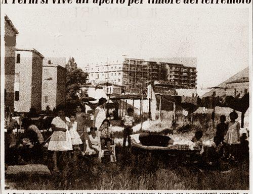 """Luglio 1960, terremoto a Terni:""""Sul monte di Cesi s'aprirà un vulcano"""""""