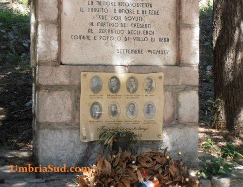 Vallo di Nera, morti a vent'anni fucilati dai nazisti