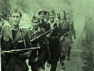 Partigiani slavi della brigata Gramsci