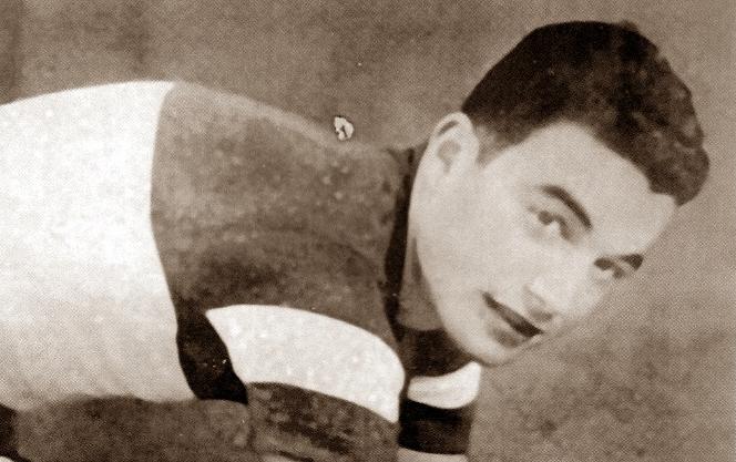 Un giovane Adolfo Leoni