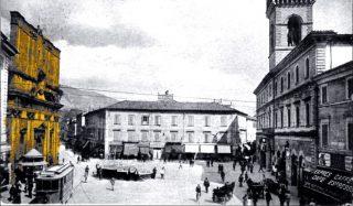 Terni piazza della Repubblica 1918