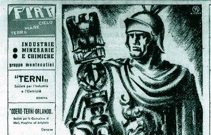 "La ""Terni"" celebra la conquista d'Etiopia"