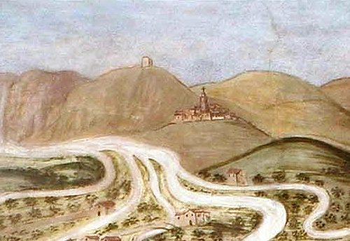 1415, Terni di nuovo in guerra con Rieti per un canale alle Marmore