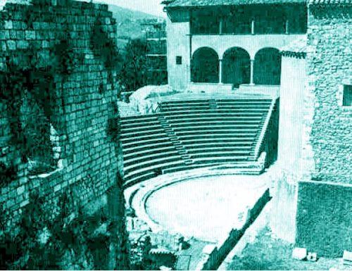 1952, a Spoleto scoperto il Teatro Romano