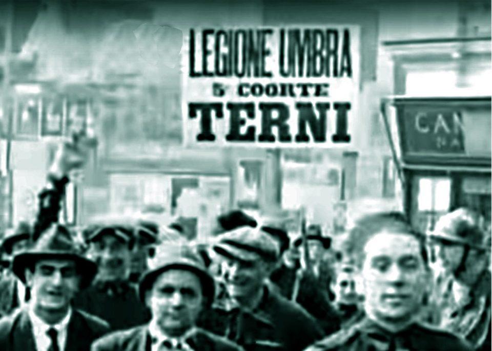 agguato fascista ternani a marcia su roma ferito