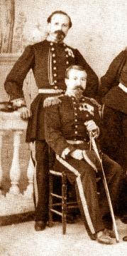 colonna umbra esercito 1861 i due comandanti