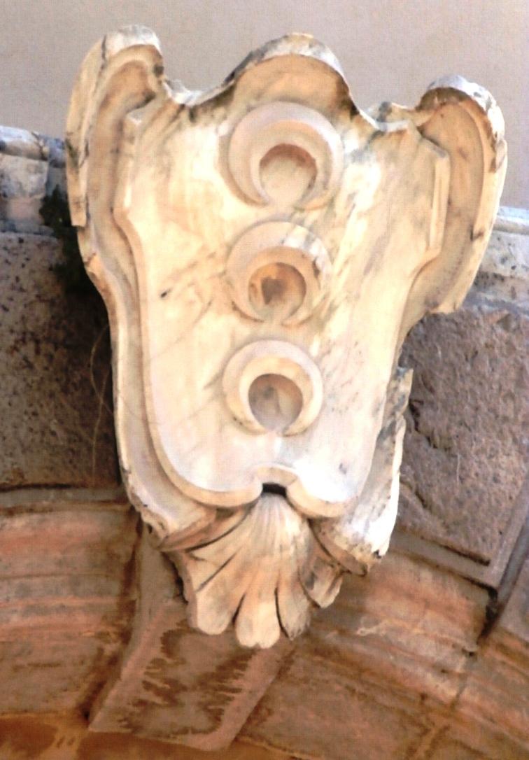 Mompeo lo stemma di Naro signori del paese nel XVII secolo