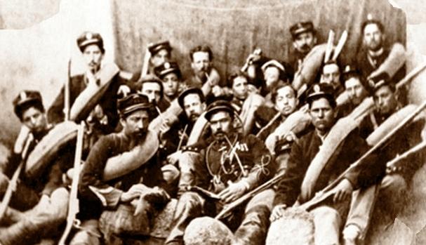 colonna umbra esercito 1861