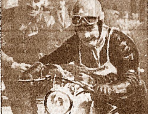 Remo Venturi, con la Mondial, vince la Milano-Taranto