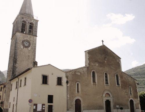 Ferentillo, ladri in chiesa in pieno giorno: rubati due calici