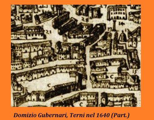 1640, il comune di Terni sponsor di Domizio Gubernari