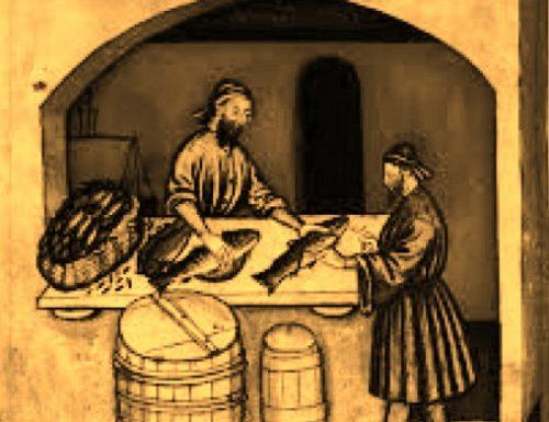 """1597, si apre una """"pesceria"""" in piazza del mercato"""