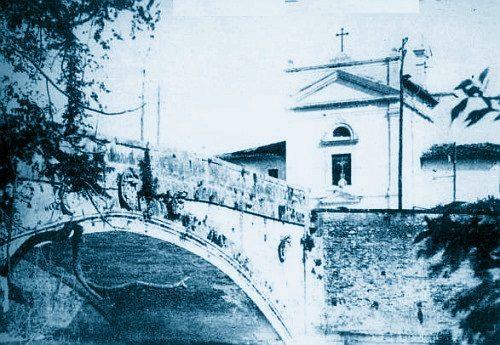 Cerimonia solenne per la prima pietra: si ricostruisce Ponte Romano