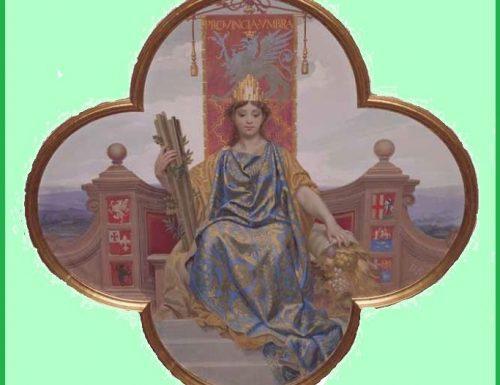1861, nasce la Provincia dell'Umbria che s'allarga fino a Rieti