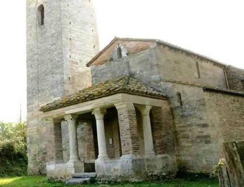 Narni, la facciata nascosta della chiesa di Santa Pudenziana
