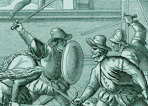 1555, lite tra famiglie potenti: Borsio Paradisi uccide Muzio Castelli