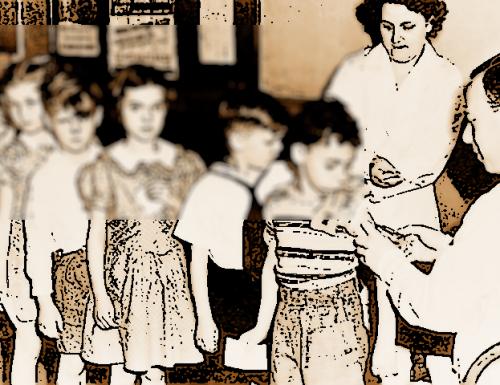 1957, Terni chiede di riprendere la vaccinazione antipolio