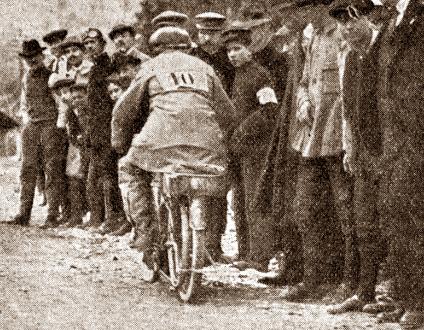 1914, il ternano Parazzini vince il circuito dell'Appennino