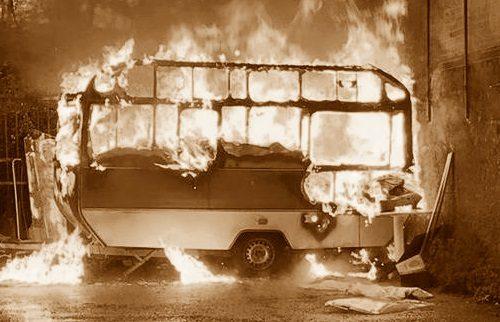 1976, a Narni Scalo falò di tre automezzi: vendetta politica?