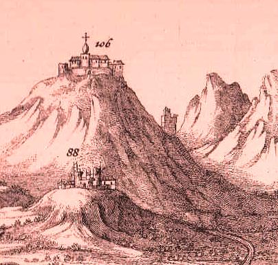 Rocca Carlea: la donazione di un fortilizio ternano al papa Gregorio IX