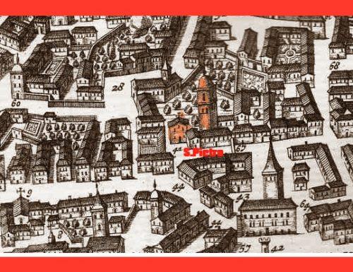 1405: con le pietre del Cassero diroccato si ricostruisce la chiesa dello Spirito Santo