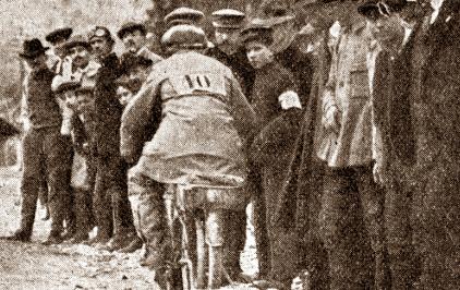 1914, il ternano Porrazzini vince il circuito dell'Appennino