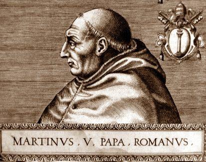 1423, il papa detta le regole per un onesto governo a Terni