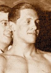 Cartonnet campione di nuoto spia nazista
