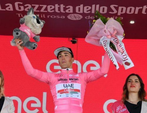 Con Valerio Conti anche l'Umbria veste la Maglia Rosa al Giro d'Italia