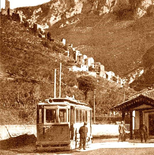 Ferentillo tramvieri tram