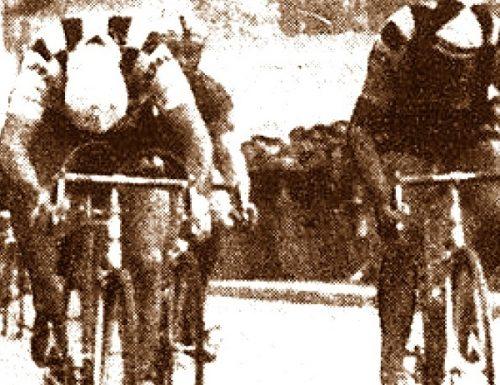 1960 Ciclismo: a Perugia fa tappa la Genova-Roma. E Brugnami fa il diavolo a quattro
