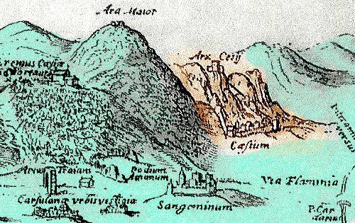 1262, un Templare nominato dal papa castellano di Cesi