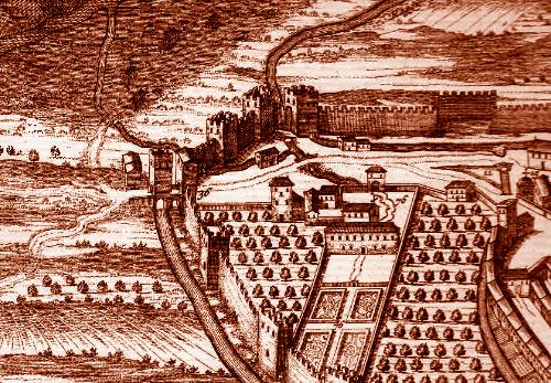 1410, Spoleto vince la guerra contro Terni e come trofeo porta via il catenaccio di Porta Spoletina