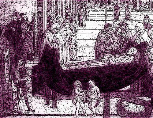 1435: troppa tristezza per i funerali. Il Comune prova a tirar su il morale dei ternani