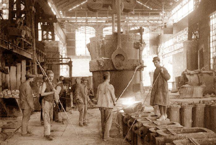 """1914: atto di prepotenza della """"Terni"""" per risparmiare 12 lire sulla paga di cento operai"""