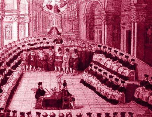 1591, da Terni a Roma ad omaggiare il nuovo papa Innocenzo IX