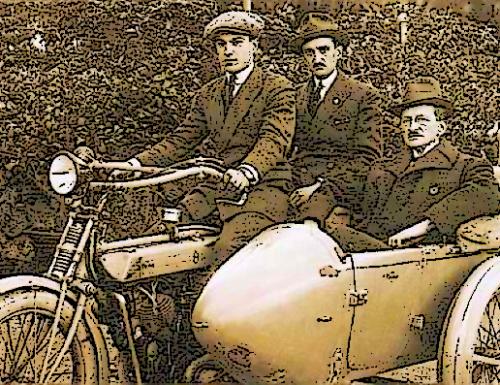 Terni 1923, sidecar investe un vitello: tre giovani all'ospedale
