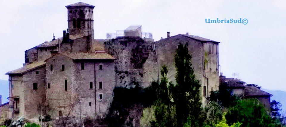 Miranda, Terni. Nel 1234 fu acquistata dal Papa