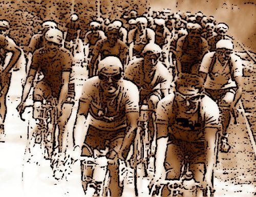 1934, un Giro d'Italia tutto particolare riservato a giovani fascisti: per il ternano Elvezio Palla un terzo posto