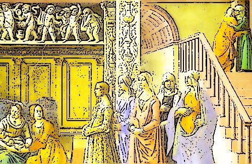 """Terni 1428, liti continue tra famiglie: il Comune crea il consiglio dei """"Pacieri"""" e vi nomina anche donne"""