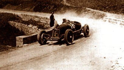 1926, De Sterlich vince la Terni-Passo della Somma davanti a Borzacchini