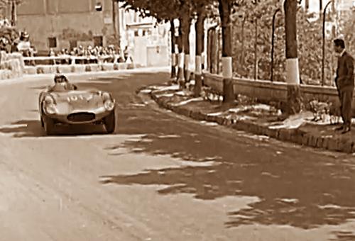 1954, Gerini batte Musso al Giro Automobilistico dell'Umbria