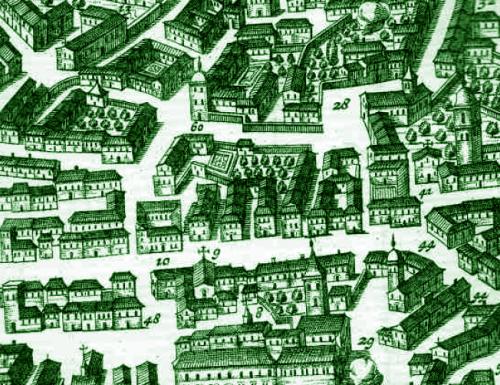 1702, il Palazzo dei Priori (oggi teatro Verdi) è fatiscente: il Comune si trasferisce