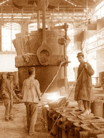 1907 acciaierie spionaggio
