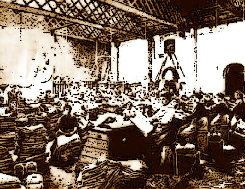 Terni 1905: incendio distrugge lo jutificio Centurini, grave un pompiere