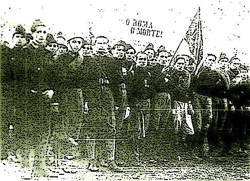 Terni 1922, ferito con tre colpi di pistola il fascista Galassi